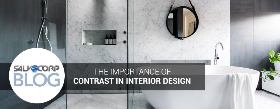 The Importance of Contrast in Interior Design - Salvocorp