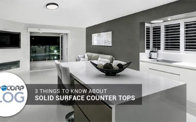 3 Things to Know About Solid Surface Counter Tops