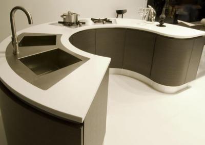 Salvocorp Staron solid surfaces interior Applications Photos