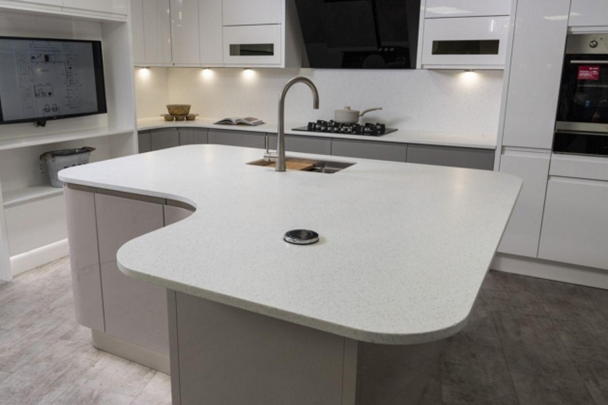 Staron Solid Surface Kitchen