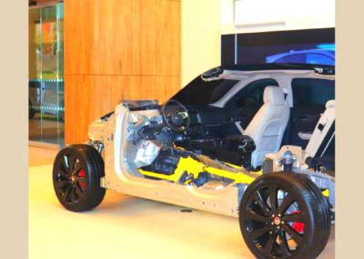 Jaguar Land Rover Experience Centre Showroom
