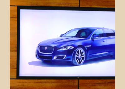 Jaguar Land Rover Experience Centre Reception