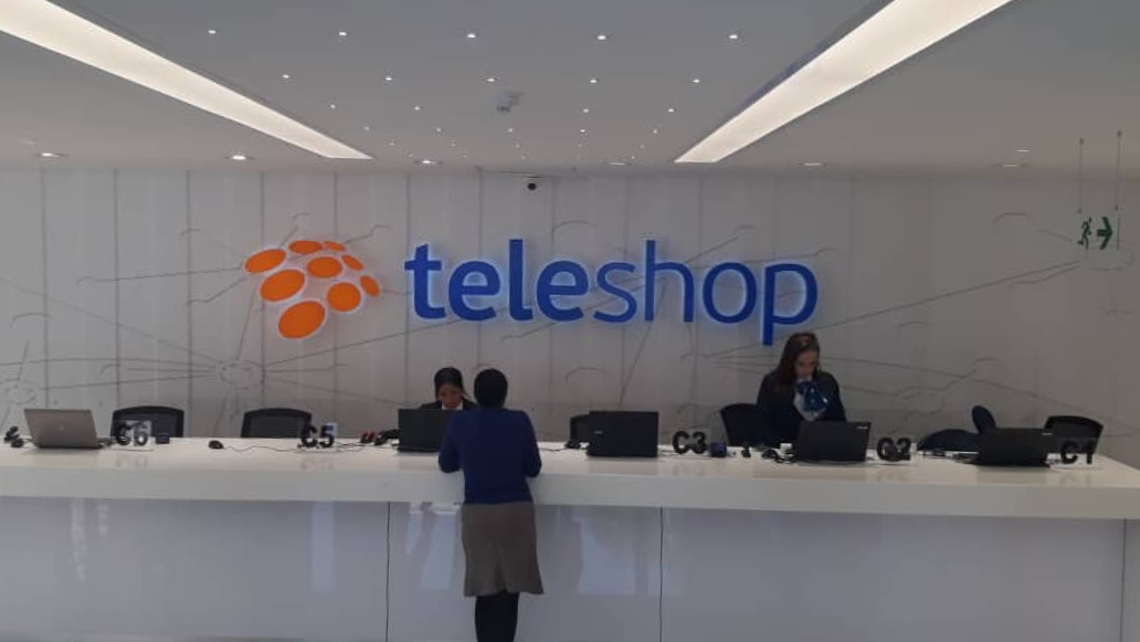 Solid Surface Reception Areas | Teleshop Case Study
